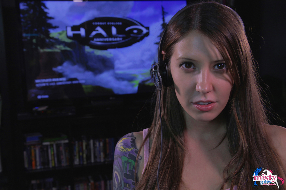 Misty Gates Trash Talking Gamer Girl 1